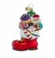 Christopher Radko Sugar Boot Stack Santa Claus Ornament