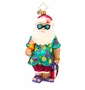 Christopher Radko Summer Fun Santa Ornament