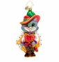 Christopher Radko The Cat-a-teer Ornament