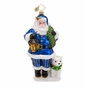 Christopher Radko True Blue Companions Ornament