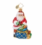 Christopher Radko Twinkling Tote Little Gem Ornament