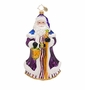 Christopher Radko Violet Night Nicholas Ornament