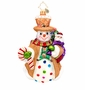 Christopher Radko Waffle Wally Ornament
