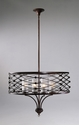 Clarisse Bronzed Iron Pendant Light by Cyan Design