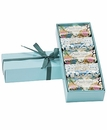 Claus Porto 5 Mini Soaps Blue Gift Box Set (Madrigal / Cerina)