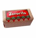 Claus Porto Deco Favorito Red Poppy Hand Soap Bar