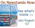 Coastal Living Magazine - July / August 2007