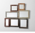 Collage Wood Wall Mirror by Cyan Design