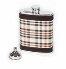 Concord 6 oz Mackie Tartan Whiskey Flask