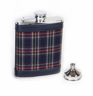 Concord 6 oz Royal Stewart Tartan Whiskey Flask
