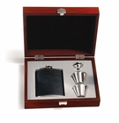 Concord Black Bison Flask Presentation Set