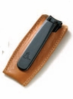 Concord Executive Toe Nail Clipper in Leather Case