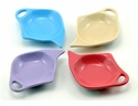 Confetti 2 Pastel Tea Bag Holders (Set of 4) by Hues & Brews
