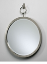 Contemporary Round Hanging Wall Mirror by Cyan Design