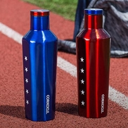 Corkcicle USA Patriotic Insulated Water Bottle 16 oz - Limited Edition Olympic Version