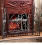 Crane Flock Fireplace Screen by SPI Home