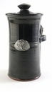 Crosby & Taylor Pewter Dragonfly Coffee Canister - Blackberry