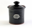 Crosby & Taylor Pewter Dragonfly Garlic Pot - Blackberry