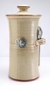 Crosby & Taylor Pewter Fish Coffee Canister - Latte