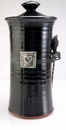 Crosby & Taylor Pewter Hearts Coffee Canister - Blackberry