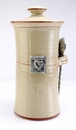 Crosby & Taylor Pewter Hearts Coffee Canister - Latte