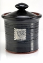 Crosby & Taylor Pewter Hearts Garlic Pot - Blackberry