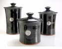 Crosby & Taylor Pewter Roman Canister Set - Blackberry