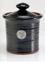 Crosby & Taylor Pewter Roman Garlic Pot - Blackberry