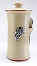 Crosby & Taylor Pewter Vineyard Coffee Canister - Latte