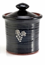 Crosby & Taylor Pewter Vineyard Garlic Pot - Blackberry