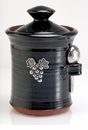 Crosby & Taylor Pewter Vineyard Salt Pot - Blackberry