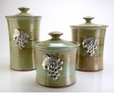 Crosby & Taylor (Tin Woodsman) Canister Set Pistachio - Vineyard