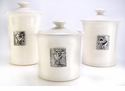 Crosby & Taylor (Tin Woodsman) Canister Set Whipping Cream - Hearts