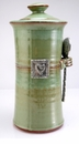 Crosby & Taylor (Tin Woodsman) Coffee Canister Pistachio - Hearts