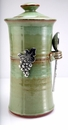 Crosby & Taylor (Tin Woodsman) Coffee Canister Pistachio - Vineyard