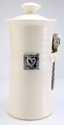 Crosby & Taylor (Tin Woodsman) Coffee Canister Whipping Cream - Hearts
