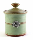 Crosby & Taylor (Tin Woodsman) Pistachio Garlic Pot - Dragonfly