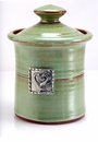 Crosby & Taylor (Tin Woodsman) Pistachio Garlic Pot - Hearts