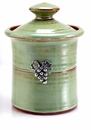 Crosby & Taylor (Tin Woodsman) Pistachio Garlic Pot - Vineyard