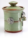 Crosby & Taylor (Tin Woodsman) Pistachio Salt Pot - Fish