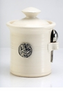 Crosby & Taylor (Tin Woodsman) Whipping Cream Salt Pot - Fish