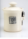Crosby & Taylor (Tin Woodsman) Whipping Cream Salt Pot - Hearts