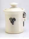 Crosby & Taylor (Tin Woodsman) Whipping Cream Salt Pot - Vineyard