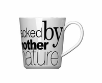 """Curtis Stone """"Packed By Mother Nature"""" Mug"""
