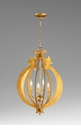 Danelle 4 Light Glass Pendant by Cyan Design