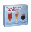 Dartington Three Cheers For Beers Glass Set