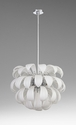 Day Lily 7 Light Pendant White by Cyan Design