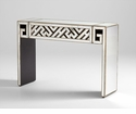 Deco Maze Mirrored Console Table by Cyan Design
