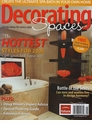 Decorating Spaces Magazines - January 2006