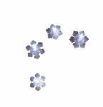 Department 56 Snow Village String of Four Snowflake Lights